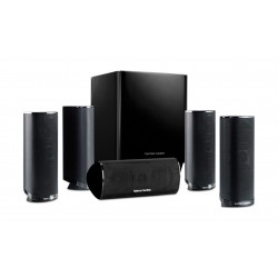 Harman Kardon 5.1 Channel 120W Home Theater Speaker System (HKTS16BQ)