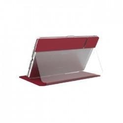Speck Balance Folio 10.2-inch iPad Case - Red / Clear