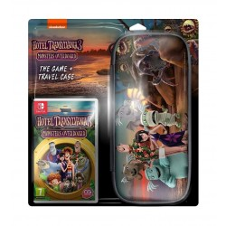 Hotel Transylvania 3: Monsters Overboard Nintendo Switch Game +Travel Case