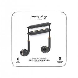 Happy Plugs Wireless Earbud Plus II (HP-7620) - Black/Gold