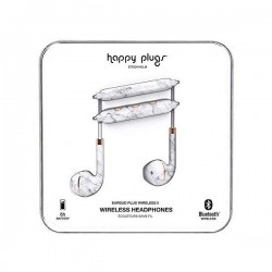 Happy Plugs Wireless Earbud Plus II (HP-7626) - White Marble
