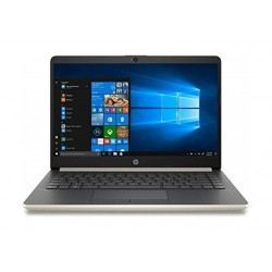 "HP 14-cf3015ne Intel Core i5 10th Gen. 8GB RAM 1TB HDD + 128GB SSD 14"" Laptop - Gold"