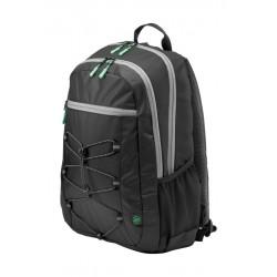 HP 15.6 Active Backpack (1LU22AA) - Black/Mint Green