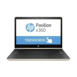 HP Pavilion x360 Core i5 8GB RAM 1TB HDD + 128  SSD 14-inch Convertible Laptop - Gold