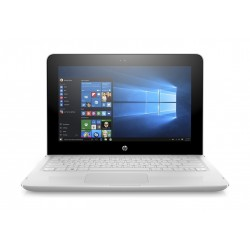 HP x360 Intel Celeron 4GB RAM 128 SSD 11.6-inch Convertible Laptop (11-ab103ne) - White