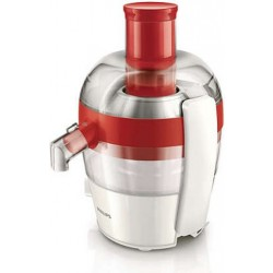 Philips 1.5L 400W Viva Collection Juicer (HR1832/45) - Red 1st view
