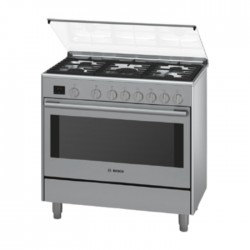Bosch 90x60CM Free Standing Gas Cooker HSG738357M in Kuwait | Buy Online – Xcite