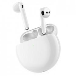 Huawei Freebuds 4 True Wireless Earphones White outside charging case