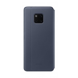 Huawei Flip Folio Textured Wallet Cover for Mate 20 Pro (51992635) - Blue