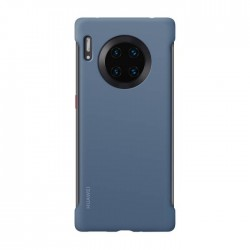 Huawei Mate 30 Pro Stylish Silicon Case - Blue