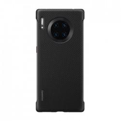 Huawei Mate 30 Pro Stylish Texture Case - Black