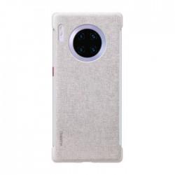 Huawei Mate 30 Pro Stylish Texture Case - Elegant Grey