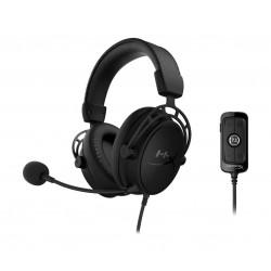 HyperX Cloud Alpha S PC Gaming Headset - Black
