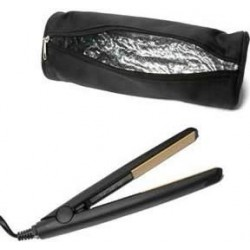 Hair Straightener Pouches - Black