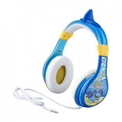 iHome Baby Shark Over-Ear Headphone (IH-KD-140BS) - Blue
