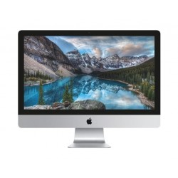 Apple iMac Intel Core i5 3.8GHz 8GB RAM 2TB Fusion Drive 27 Inch Desktop (MNED2) - White