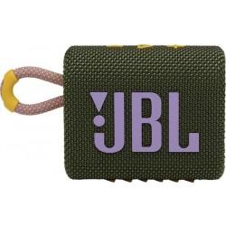JBL Go 3 Portable Bluetooth speaker Water-proof, Dust-proof - Green
