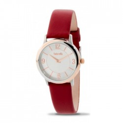 Borelli 36mm Ladies Leather Analog Watch - (20050653)