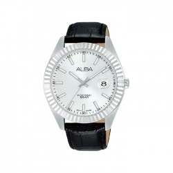Alba 42mm Analog Gents Leather Casual Watch -  AS9K05X1