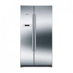 Bosch 22 CFT Side by Side Refrigerator (KAN90V120N) - Inox
