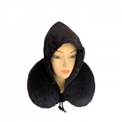 Memory Foam Hooded Neck Pillow