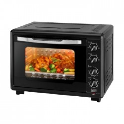 Black & Decker 2000W 55L Electric Oven - TRO55RDG-B5