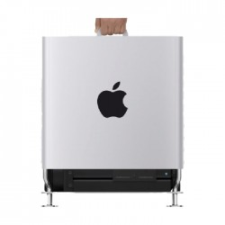 Apple Customized Mac Pro 8 Core 32GB Ram 1TB SSD Desktop Tower + Apple Afterburner Card  - Stainless Steel