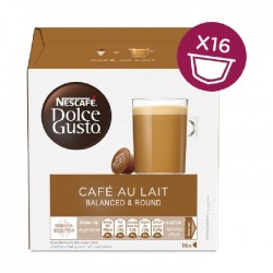 Dolce Gusto Nescafe Cafe Au Lait - Coffee Pods