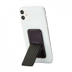 HANDLstick Carbon Fiber Smartphone Holder - Black
