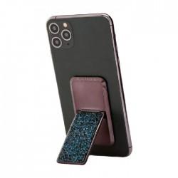 HANDLstick Crystal Smartphone Holder - Black/Blue