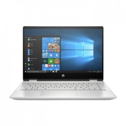 HP Pavilion x360 Core i3 4GB RAM 256GB SSD 14 Inch Convertible Laptop - Silver