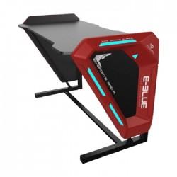 E-Blue Gaming Desk 1.25M with Blue lighting