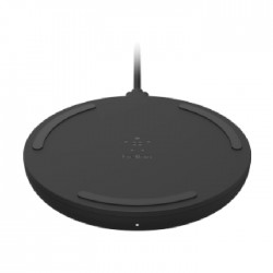 Belkin Boost Charge 10W Fast Wireless Charging Pad + Quick Charge 3.0 wall Charger - Black