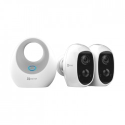 Ezviz 2 Camera Wire Free Security Kit (CS-W2D-B2-EUP)