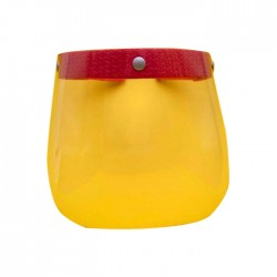 Extra Joy Kids Face Shield - Red