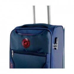 US Polo Hunter Large Soft Luggage - Navy Blue