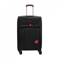 US Polo Gerardo Large Soft Luggage - Black