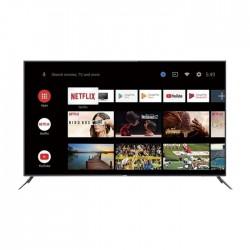 QLED 4K UHD HDR TV   Smart AI Andriod 9.0   Premium Metal design   Gray Full vision frameless design