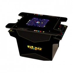 Arcade1Up Black Series PAC-MAN Head-to-Head Gaming Table