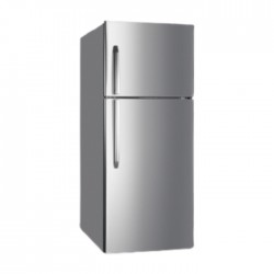 Hisense 23CFT Top Mount Refrigerator (RT650NAIS) - Stainless Steel