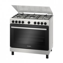 Buy Bosch 5 Burner Gas Cooker (HGV1D0V50M) in Kuwait | Buy Online – Xcite