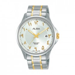 Alba 41mm Analog Gents with Arabic Index Metal Watch (AS9L67X1)