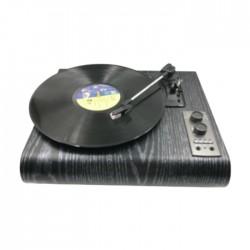 EQ BT/AM/FM 3 Speed Retro Turntable