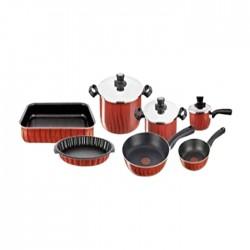 Tefal New Tempo Cookware Set  10 Pcs