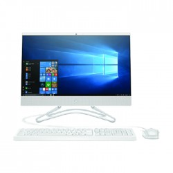 HP i3 Intel UHD 630 Ram 4GB HDD 1TB 21.5-inch All-in-One PC - White