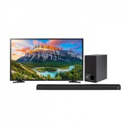 Samsung 40 inch Full HD LED TV + Polk Audio Signa Solo Wireless Soundbar