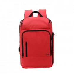 EQ Backpack for 15.6-inch Laptops - Red Price in Kuwait | Buy Online – Xcite