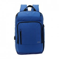 EQ Backpack for 15.6-inch Laptops - Navy Blue (KLB180810M)