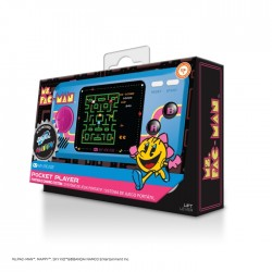 My Arcade 6.75-inch Collectible Retro Pac-Man Player - Yellow/Black