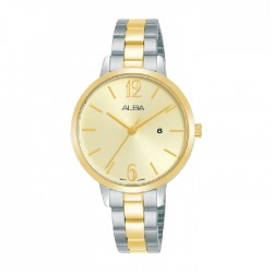 Alba 32mm Analog Ladies Metal Fashion Watch (AH7U10X1)
